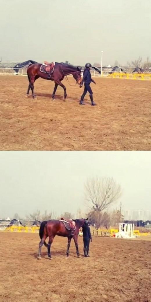 KARA ハラ「私に付きまとうルーシー」…乗馬を楽しむ動画を公開