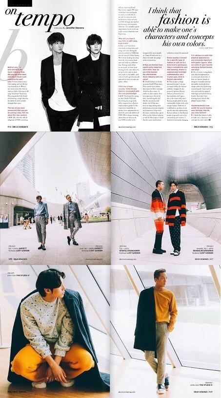 VIXXのユニットLR、アメリカのウェブマガジンに登場…秋のファッションを完璧に表現