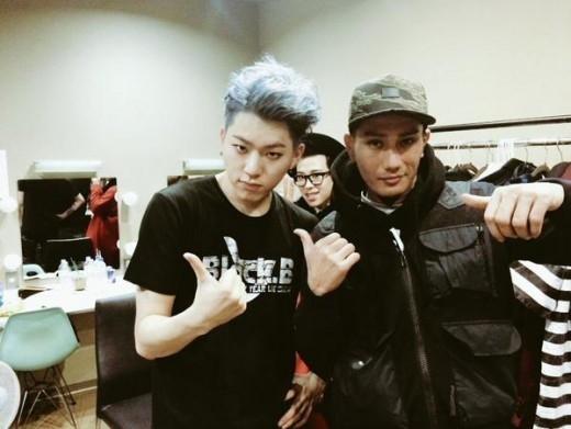 "Block B ジコ&AKLO、日韓ヒップホップ新星の出会い""溢れるカリスマ性"""