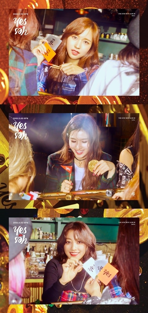 TWICE サナ&ジヒョ&ミナ、6thミニアルバム「YES or YES」予告イメージ&第1弾トラックリストを公開 , MUSIC ,  韓流・韓国芸能ニュースはKstyle