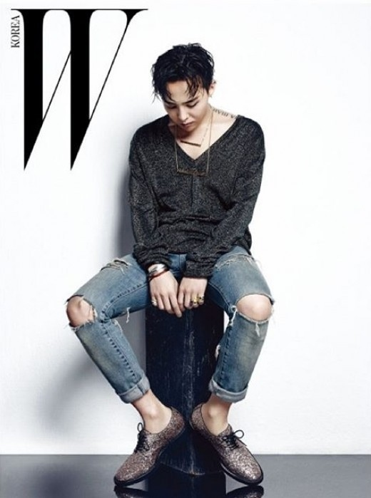 BIGBANGのG-DRAGON、男の香り漂うグラビア公開
