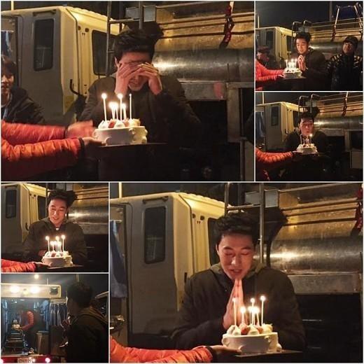 ソ・ジソブ、ドラマ「Oh my Venus」制作陣が用意したサプライズ誕生日パーティーに感動