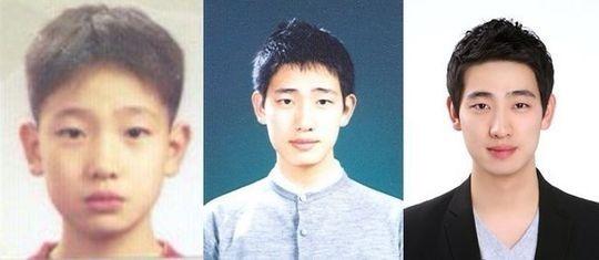 """ユン・パク、小学生&高校生&現在…これまでの証明写真を公開""""生まれながらのビジュアル"""""""