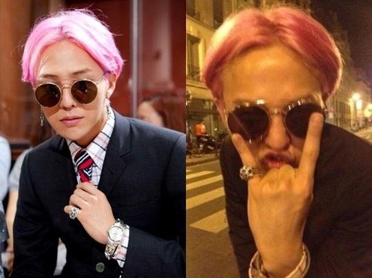 BIGBANGのG,DRAGON、ピンク色の髪でファッショニスタの貫禄