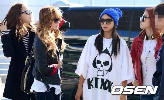 【PHOTO】SISTAR「K,POPパラダイス」参加のため沖縄へ出国\u201cシックな空港ファッション\u201d