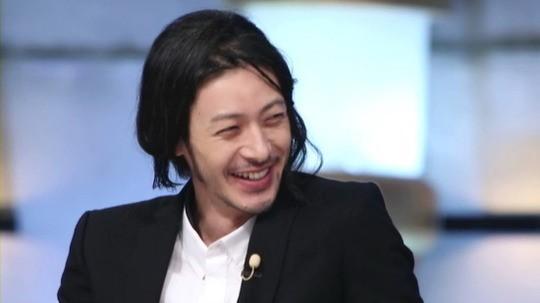 韓国トークショーのオダギリジョー
